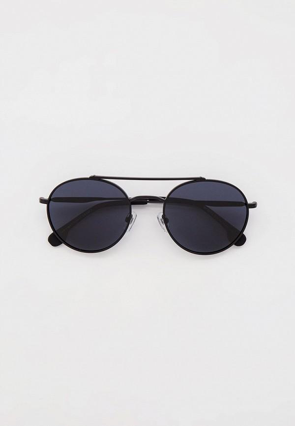 мужские круглые солнцезащитные очки matrix, черные