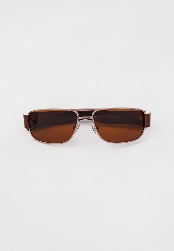 мужские авиаторы солнцезащитные очки matrix, коричневые