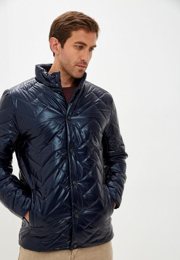 мужская утепленные куртка naturel, синяя