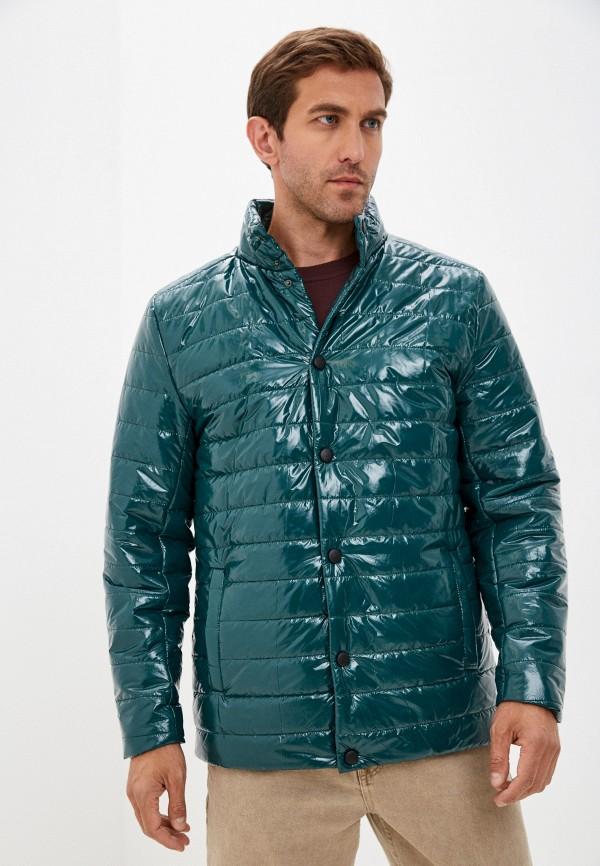 мужская утепленные куртка naturel, зеленая