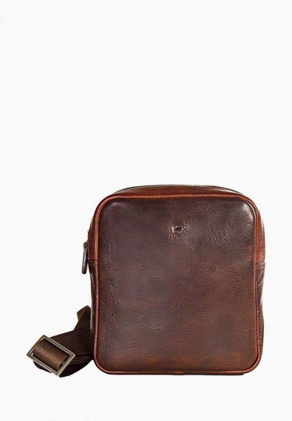 мужская сумка braun bueffel, коричневая