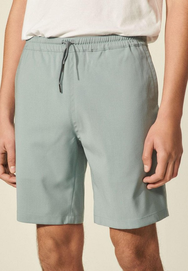 мужские повседневные шорты sandro, серые