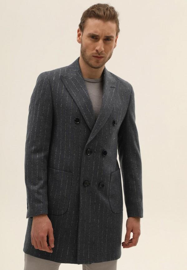 мужское пальто navi, серое