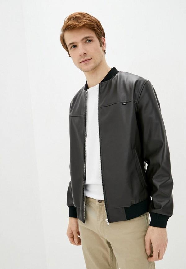мужская куртка pate, коричневая