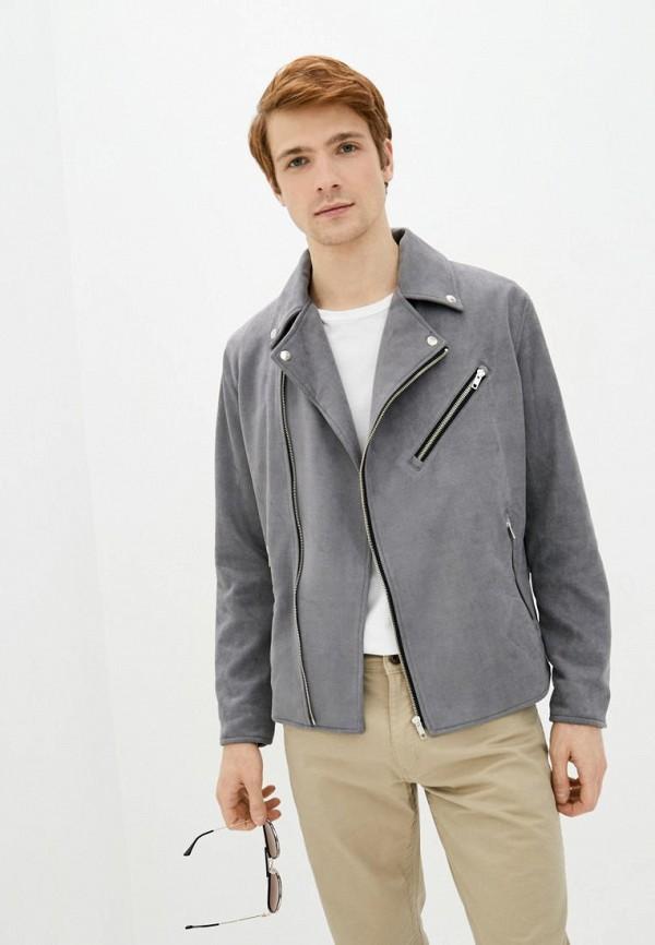 мужская куртка pate, серая