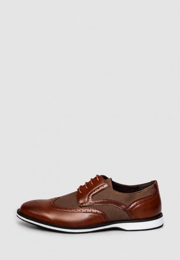 мужские туфли arber, коричневые