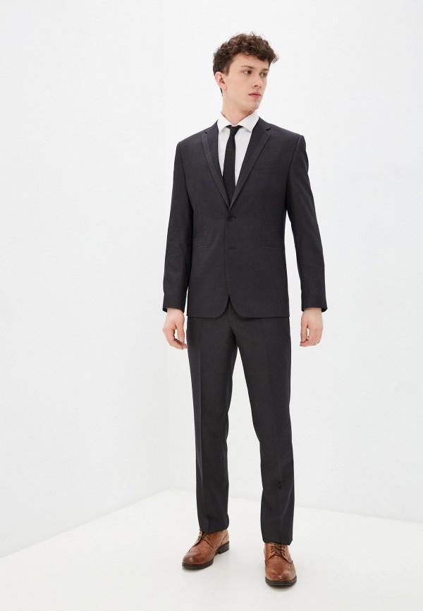 мужской классические костюм bazioni, черный