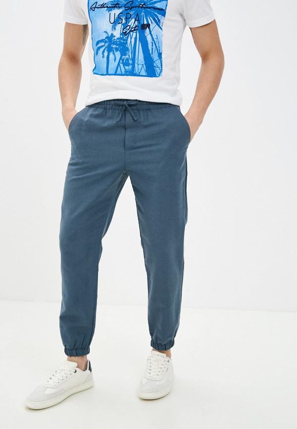 мужские брюки джоггеры mark formelle, синие