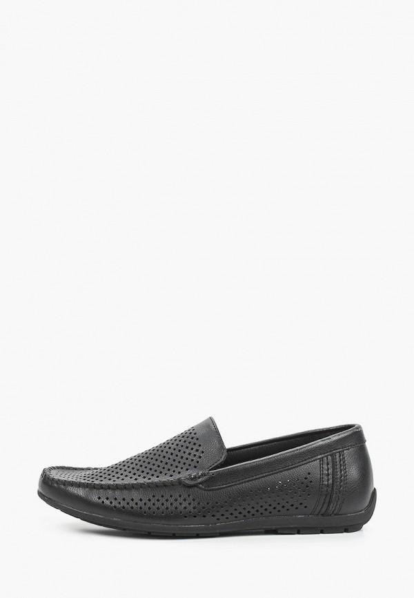 мужские мокасины munz-shoes, черные