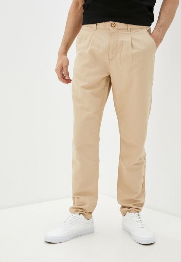 мужские повседневные брюки u.s. polo assn, бежевые