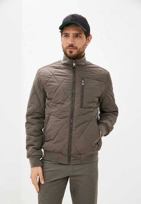 мужская куртка бомбер baon, хаки