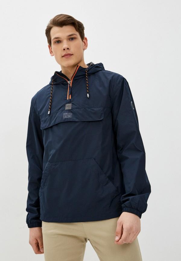 мужская куртка анораки baon, синяя