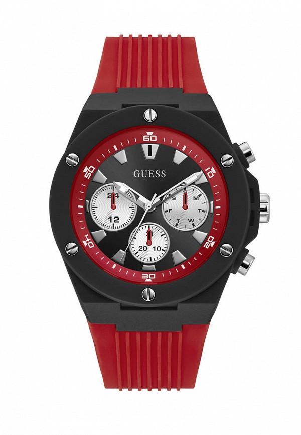 мужские часы guess, красные