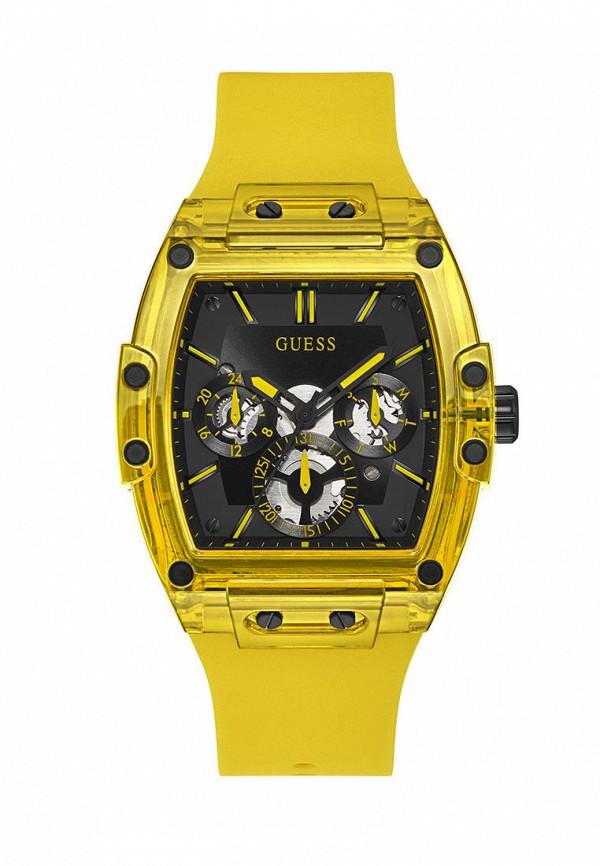 мужские часы guess, желтые