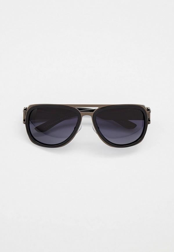 мужские авиаторы солнцезащитные очки thom richard, черные