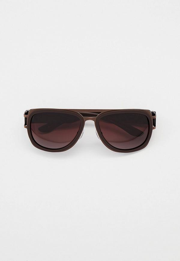 мужские авиаторы солнцезащитные очки thom richard, коричневые