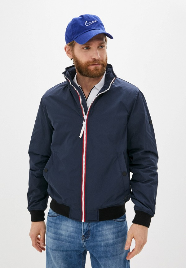 мужская утепленные куртка baon, синяя