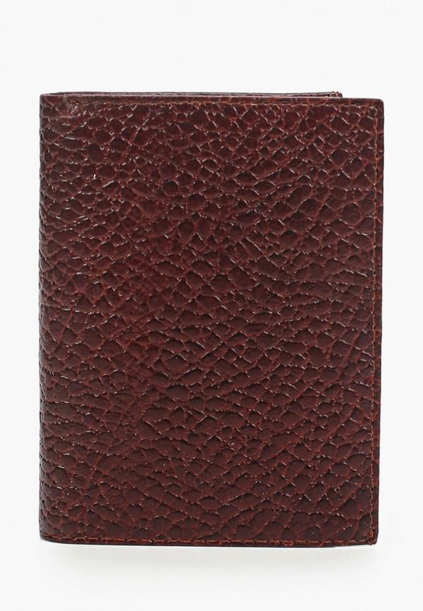 мужской кошелёк franchesco mariscotti, коричневый