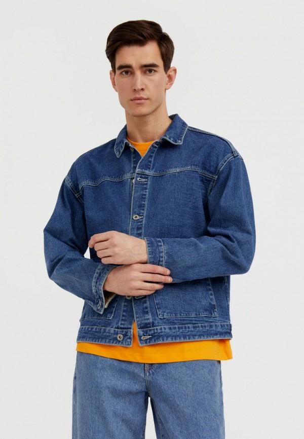 Куртка джинсовая Finn Flare синего цвета