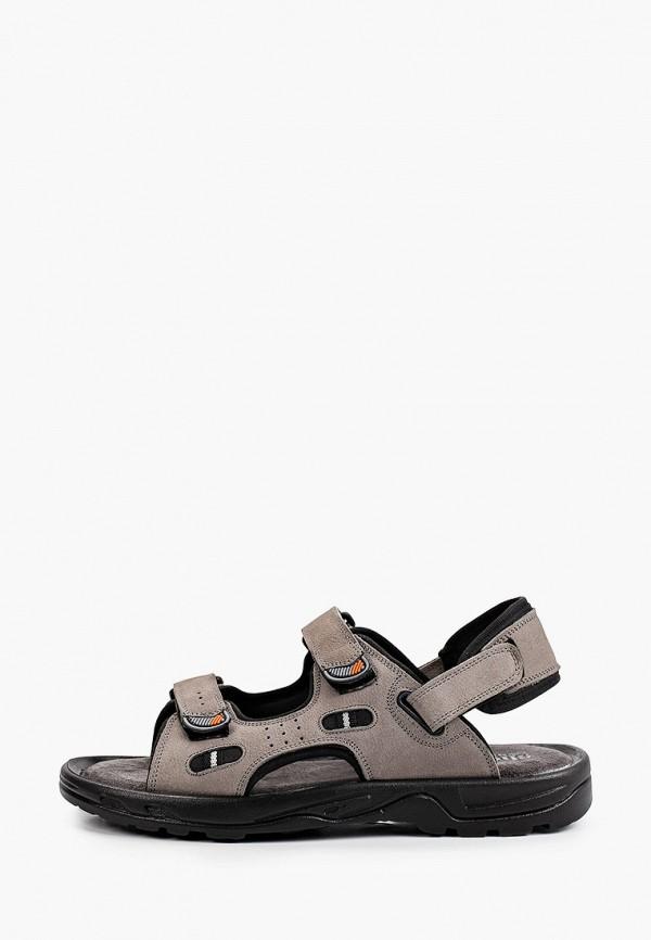 мужские сандалии shoiberg, серые