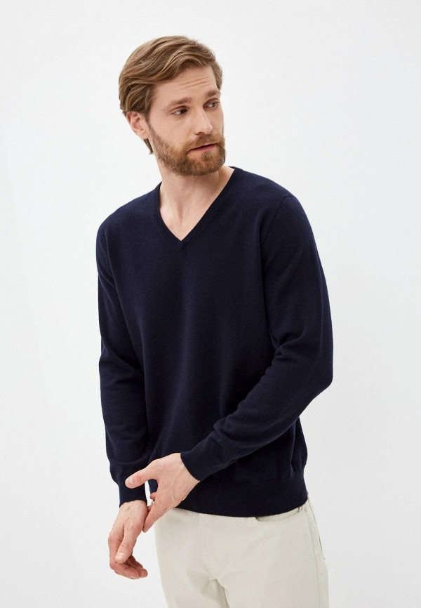 мужской пуловер falconeri, синий