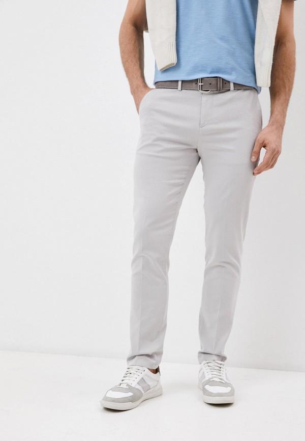 мужские повседневные брюки falconeri, серые