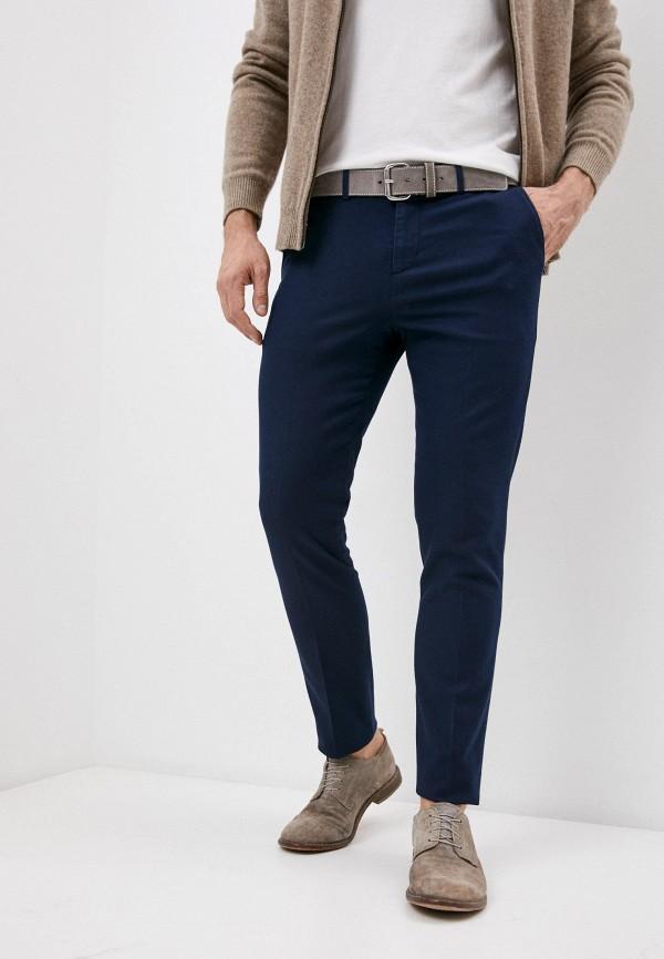 мужские повседневные брюки falconeri, синие