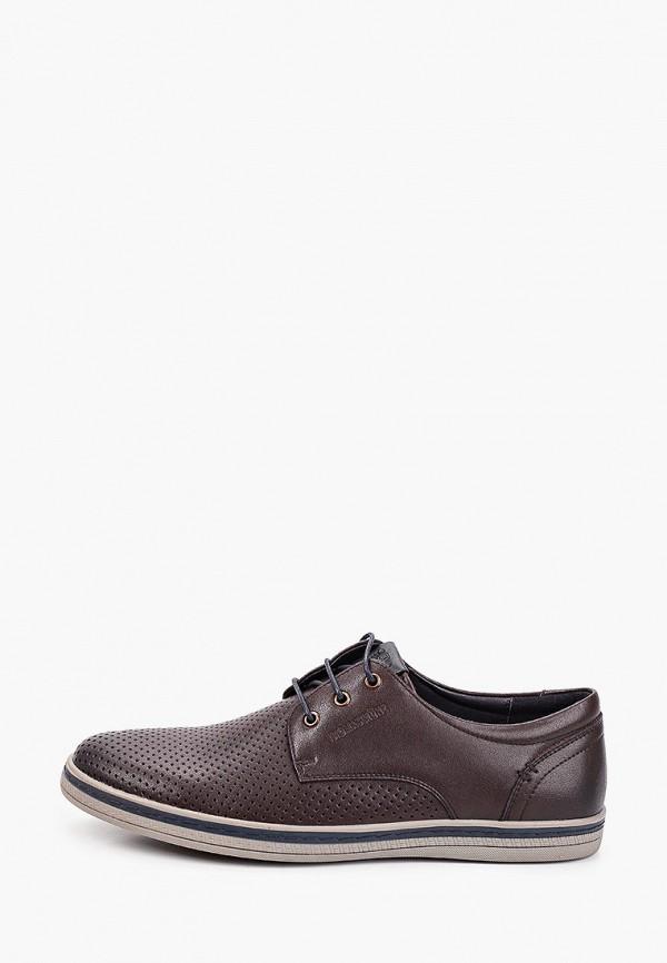 мужские низкие ботинки thomas munz, коричневые