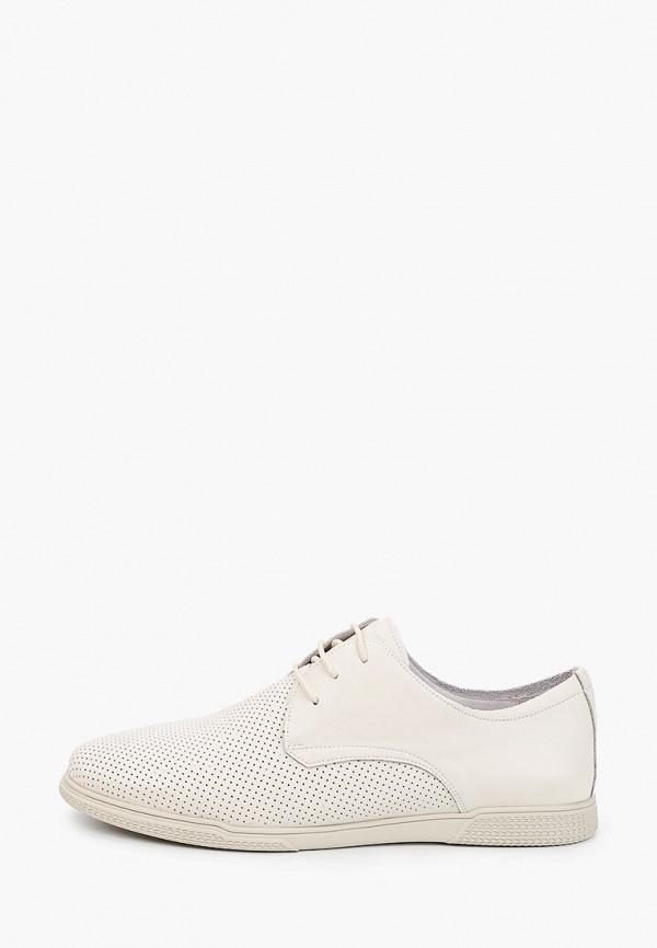 мужские низкие ботинки thomas munz, белые