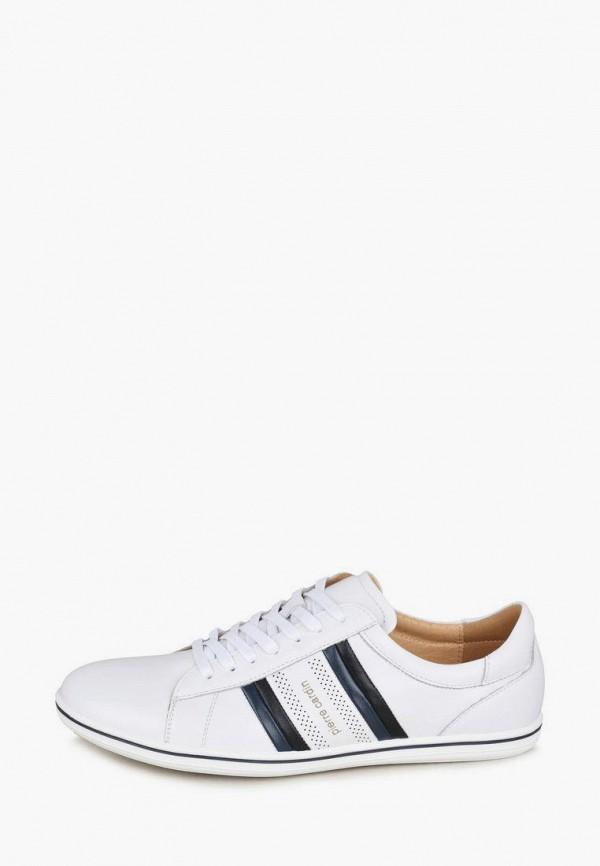 мужские низкие ботинки pierre cardin, белые