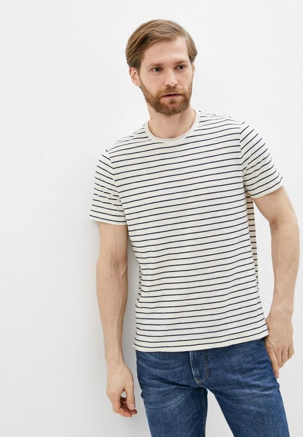 мужская футболка falconeri, белая