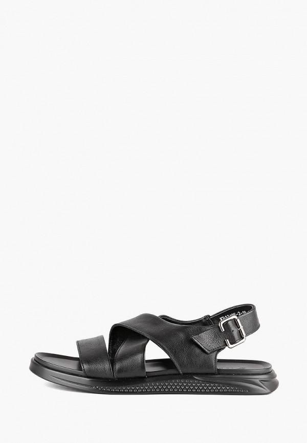 мужские сандалии leberdes, черные