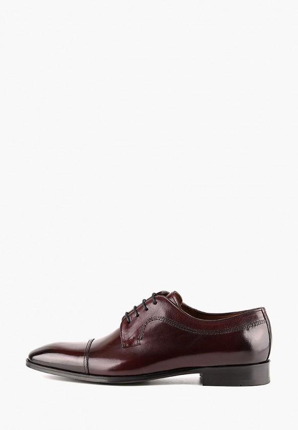 мужские туфли leberdes, бордовые