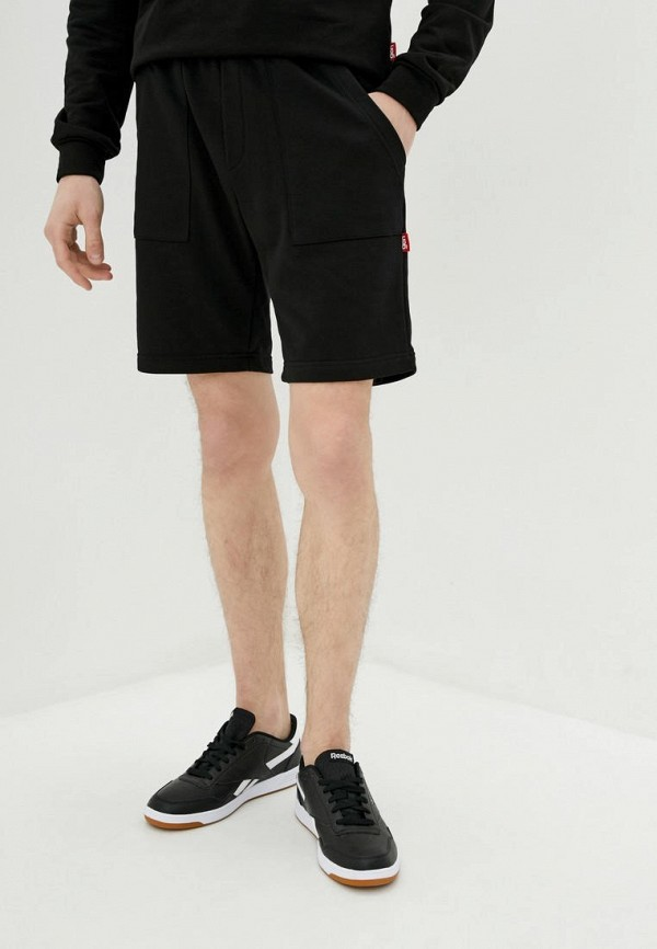 мужские спортивные шорты garne, черные
