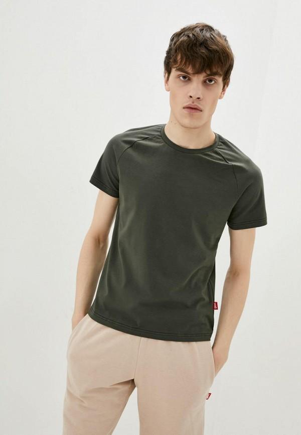 мужская футболка с коротким рукавом garne, хаки