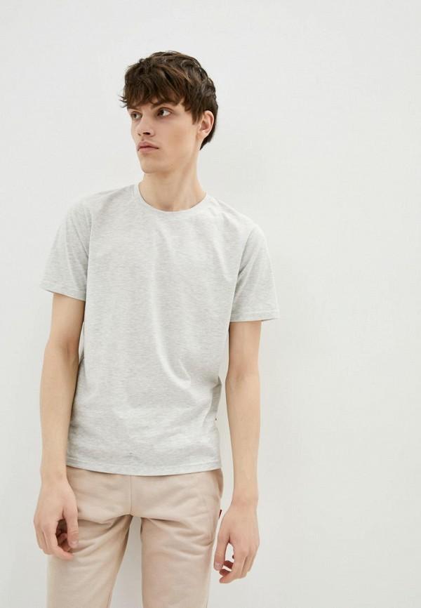 мужская футболка с коротким рукавом garne, серая