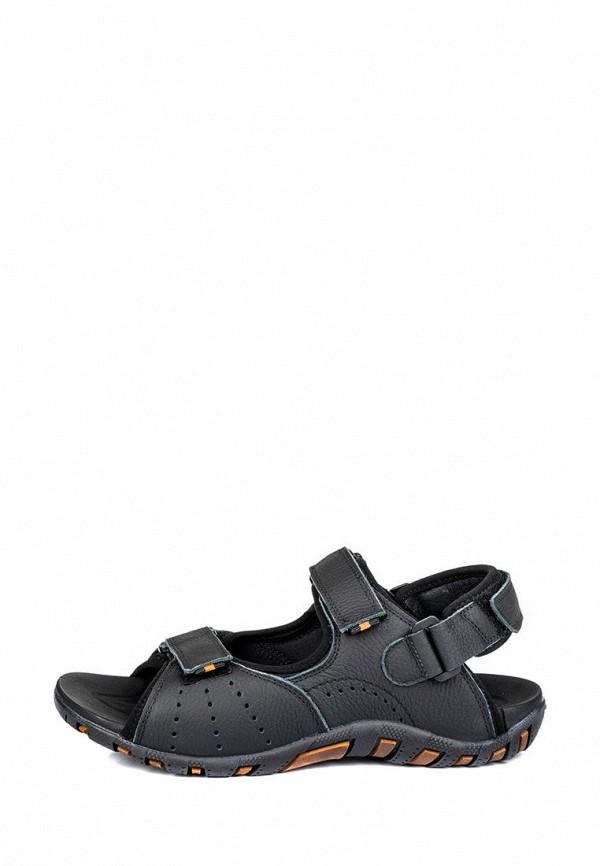 мужские сандалии mida, черные