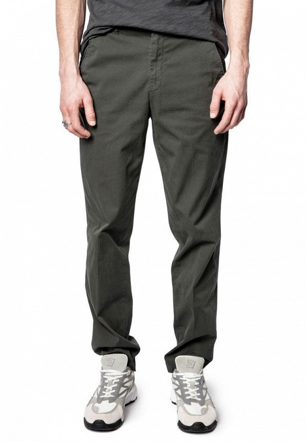 мужские повседневные брюки zadig & voltaire, хаки