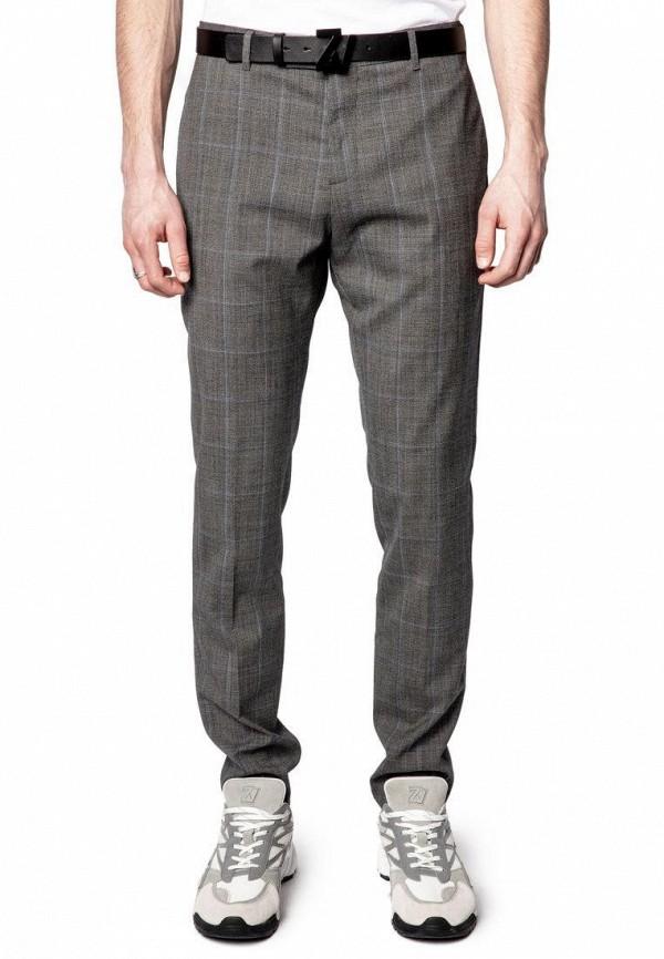 мужские классические брюки zadig & voltaire, серые
