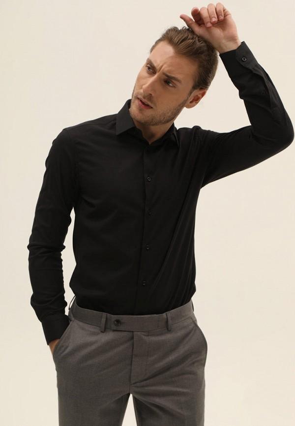 мужская рубашка navi, черная
