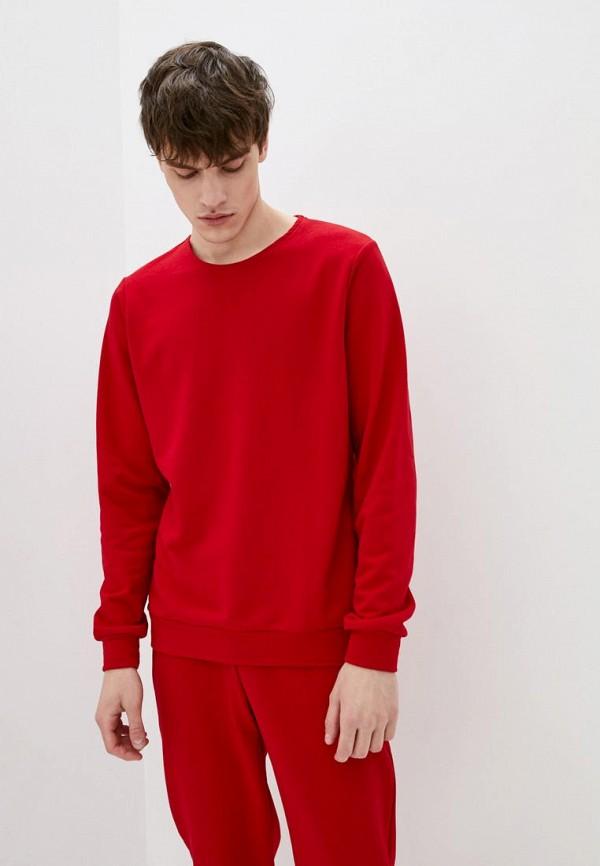 мужской свитшот garne, красный