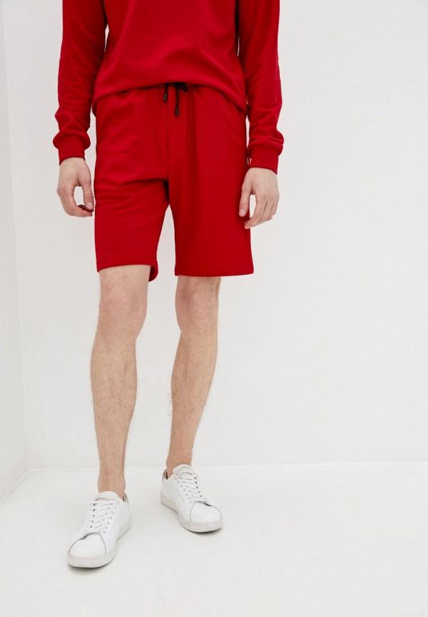 мужские спортивные шорты garne, красные