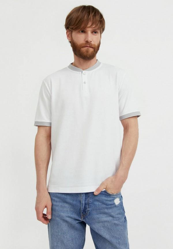 Поло Finn Flare белого цвета
