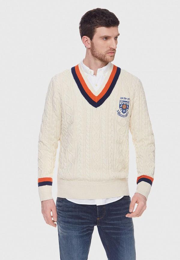 мужской пуловер polo ralph lauren, бежевый