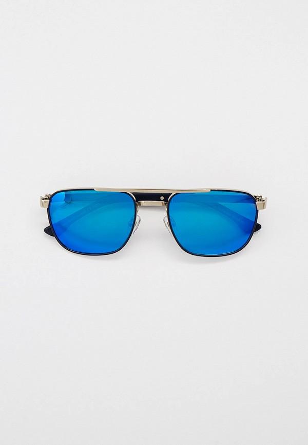 мужские квадратные солнцезащитные очки matrix, синие