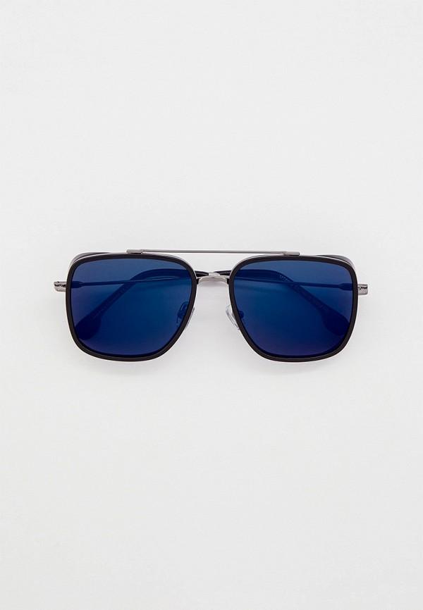 мужские квадратные солнцезащитные очки matrix, черные