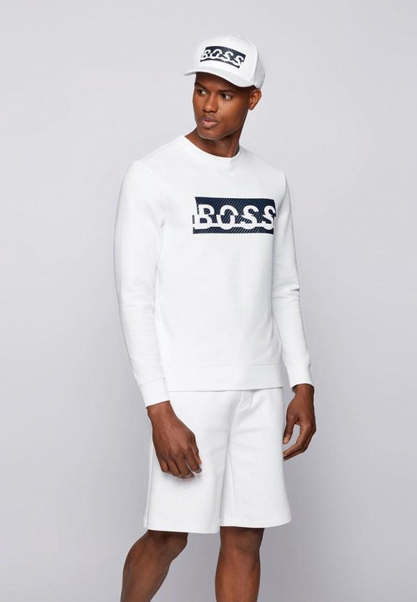 мужской свитшот boss, белый
