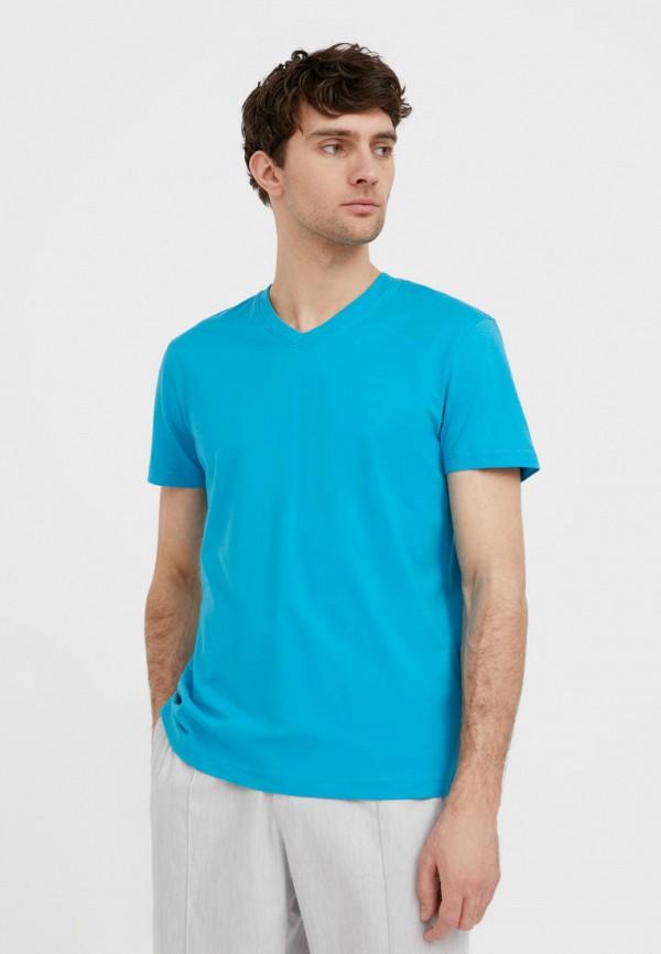 Футболка Finn Flare синего цвета