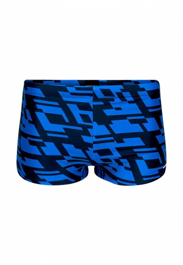 мужские плавки atlantic, голубые
