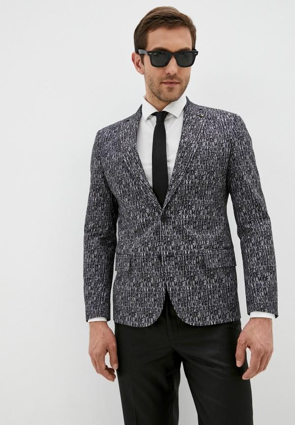 мужской пиджак bazioni, серый